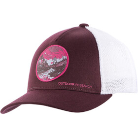 Outdoor Research Alpenglow Trucker Cap pinot